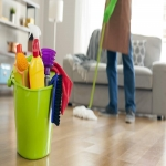 Flat cleaners in Birlingham 2