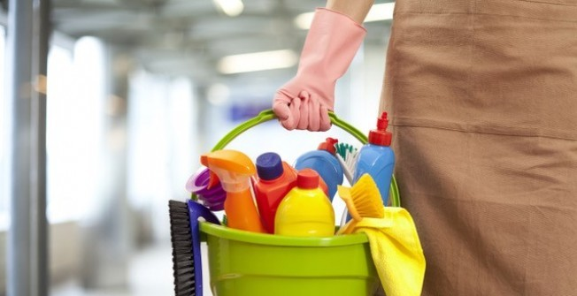 Cleaning Service Costs in Pandy
